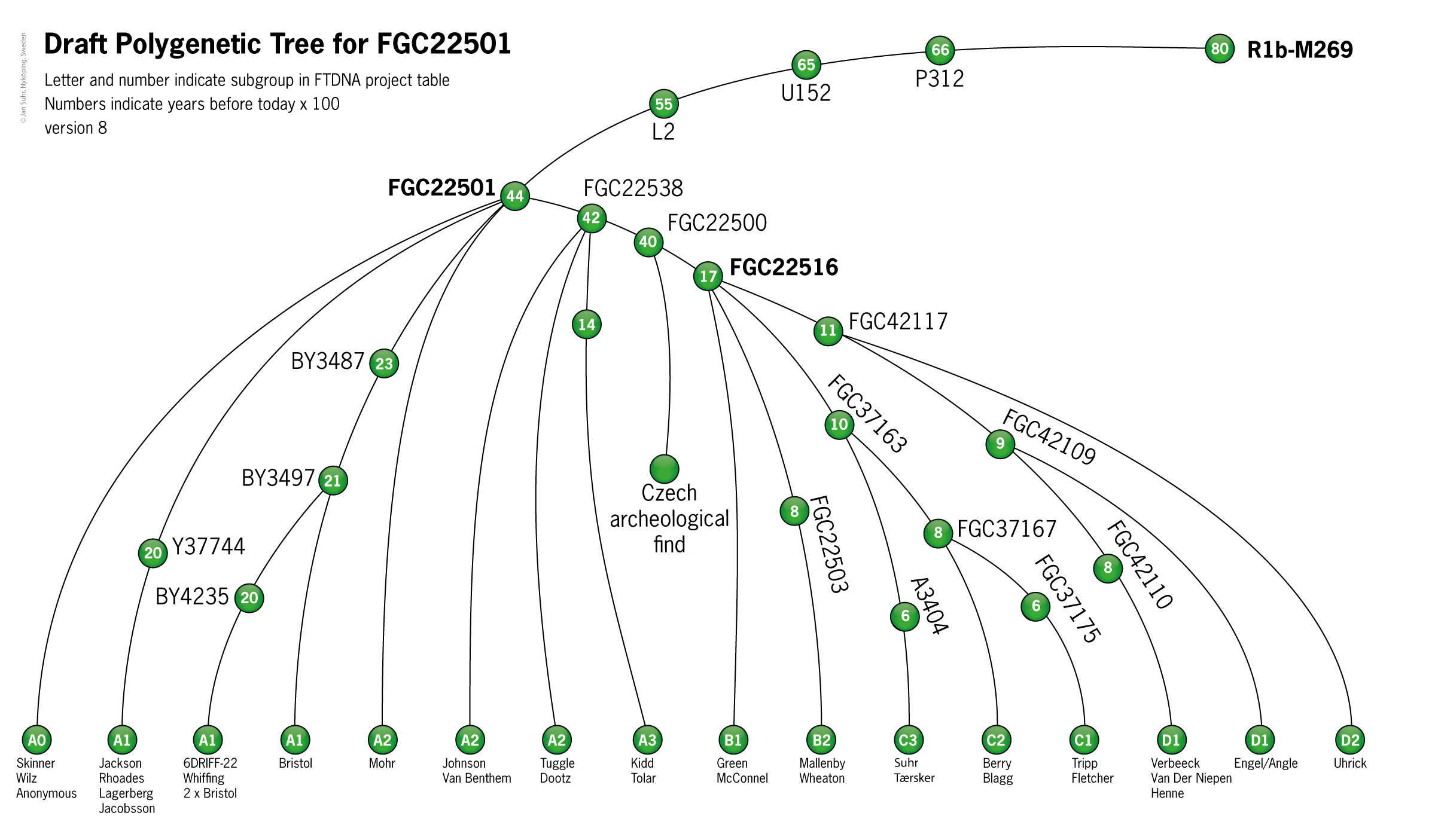 Phylogenetic Tree FGC22501 8