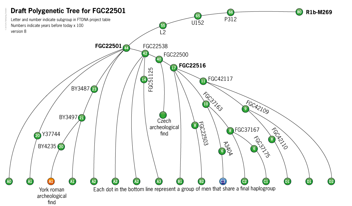 Phylogenetic Tree FGC22501 Roman Suhr